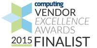 Computing Vendor Excellence Awards 2015 Finalist